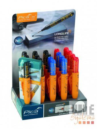 Pica Ink Display mély-lyuk marker, vegyes színekben, 20 darabos csomagban