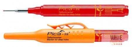 Pica Ink mély-lyuk marker, piros, 1 db