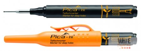 Pica Ink mély-lyuk marker, fekete, 1 db