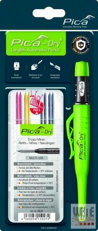 Pica Dry jelölőmarker 1 db + 1 db 4020 utántöltő hegy / vegyes színek / blister csomag