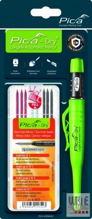 """Pica Dry jelölőmarker 1 db + 1 db 4070 utántöltő hegy / """"nyári"""" színek / blister csomag"""