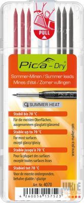 """Pica Dry jelölőmarker betét, vízálló, """"nyári színek"""", 1 csomag"""